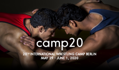 20th International Wrestling Camp Berlin 2020
